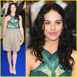 Jessica Brown-Findlay: 'Prometheus' Premiere Pretty