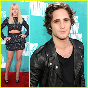 Julianne Hough: MTV Movie Awards 2012 with Diego Boneta
