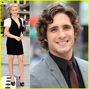 Julianne Hough & Diego Boneta: 'Rock of Ages' in London!