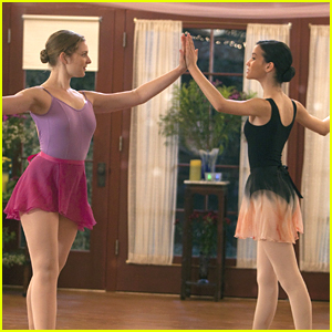 Kaitlyn Jenkins & Julia Goldani Telles: Dance Off on 'Bunheads'