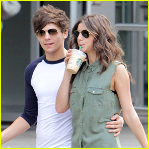 Louis Tomlinson & Girlfriend Eleanor: Starbucks Sweeties