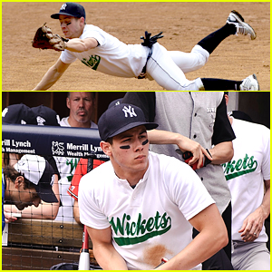 Nick Jonas: Bombers Boomer Broadway Softball Classic!