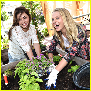 Phoebe Tonkin: Bing Summer of Doing Kickoff with Teresa Palmer