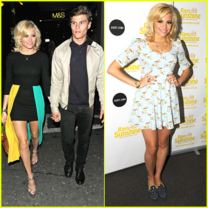 Pixie Lott is a 'Ray of Sunshine'