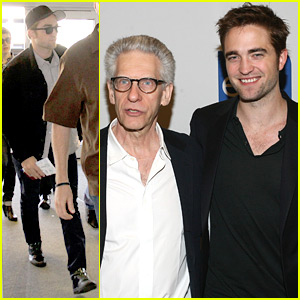 Robert Pattinson Talks Manic Attack Movie Process