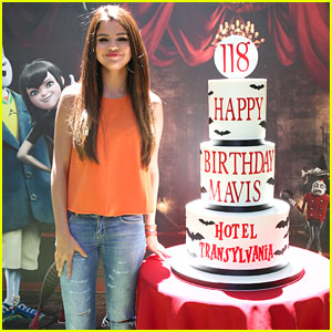 Selena Gomez: 'Hotel Transylvania' Press Day