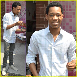 Tyler James Williams: 'Wendy Williams Show' Stud