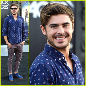 Zac Efron: 'Rock of Ages' Premiere!