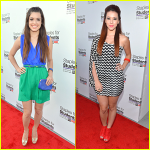 Alex Frnka & Jillian Rose Reed: Staples for Students School Supply Drive 2012