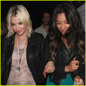 Ashley Benson & Shay Mitchell: Chateau Marmont Mates