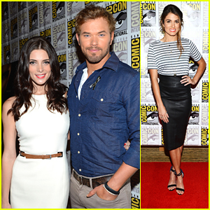 Ashley Greene & Nikki Reed: Comic-Con 'Breaking Dawn' Press Conference