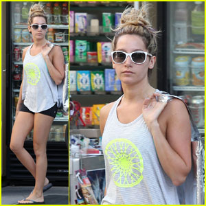 Ashley Tisdale: West Hollywood Gym Gal