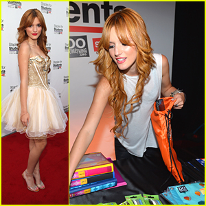 Bella Thorne: Staples for Students School Supply Drive