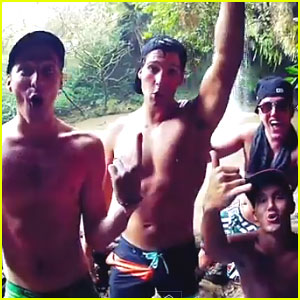Big Time Rush: 'Windows Down' Behind The Scenes Video