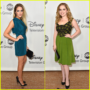 Carly Chaikin & Allie Grant: TCA Party Pair