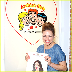 Crystal Reed is an Archie Girl
