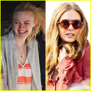 Dakota Fanning Shoots 'Very Good Girls ' with Elizabeth Olsen