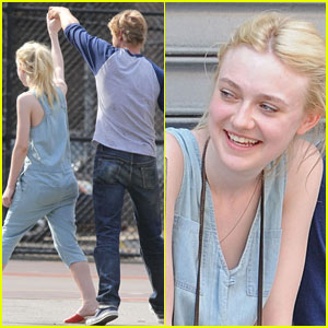 Dakota Fanning: 'Very Good Girls' Dance with Boyd Holbrook