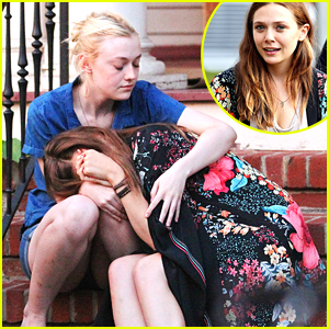 Elizabeth Olsen Leans On Dakota Fanning in 'Very Good Girls'