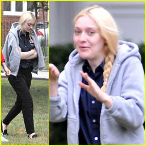 Dakota Fanning: Side Braid for 'Very Good Girls'