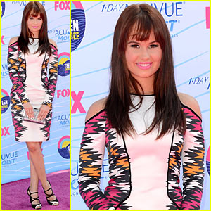 Debby Ryan - Teen Choice Awards 2012