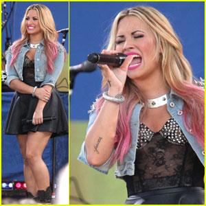 Demi Lovato: 'Good Morning America' Performer!