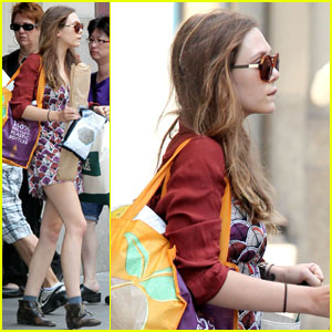 Elizabeth Olsen: Whole Foods Shopper!