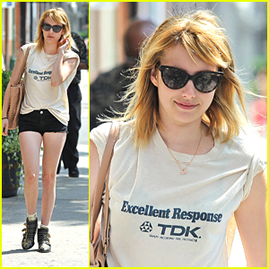 Emma Roberts: Back To School Shopping Is 'Most Stressful Thing Ever'