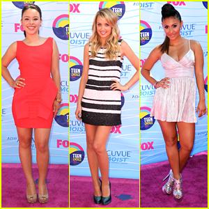 Francia Raisa & Megan Park - Teen Choice Awards 2012