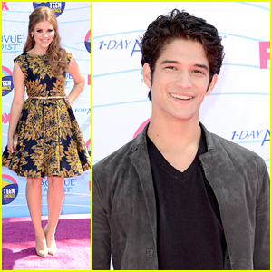 Holland Roden & Tyler Posey - Teen Choice Awards 2012