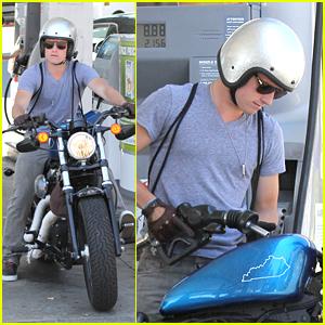 Josh Hutcherson: Fill 'Er Up!