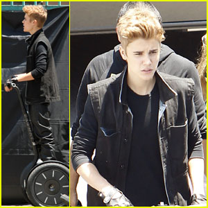 Justin Bieber: 'As Long As You Love Me' Video Shoot