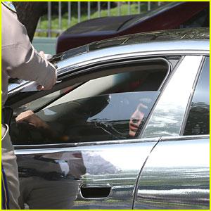 Justin Bieber: Friday Speeding Ticket