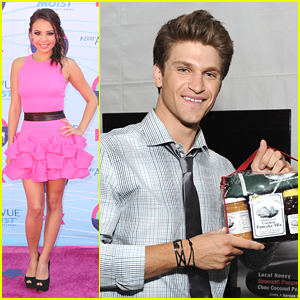 Janel Parrish: Teen Choice Awards 2012 with Keegan & Tyler!