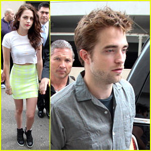 Kristen Stewart &#038; Robert Pattinson: Comic-Con 2012 Arrival