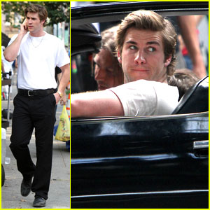 Liam Hemsworth: 'Empire State' Shoots in NYC