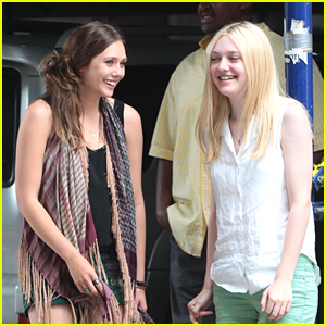 Elizabeth Olsen & Dakota Fanning: 'Very Good Girls' Get The Giggles