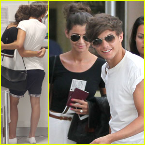 One Direction's Louis Tomlinson: Romantic Departure with Eleanor Calder