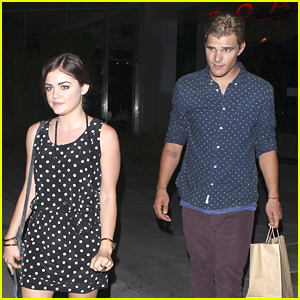 Lucy Hale & Chris Zylka: Boa Date Night