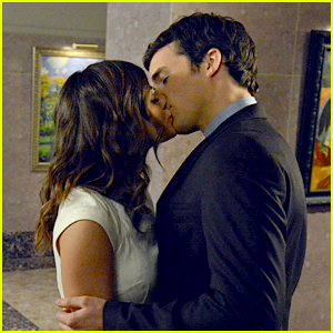 Lucy Hale & Ian Harding: Stolen Kisses In the Museum