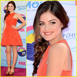 Lucy Hale - Teen Choice Awards 2012