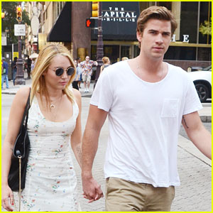 Miley Cyrus &#038; Liam Hemsworth: Capital Grille Lunch Date!