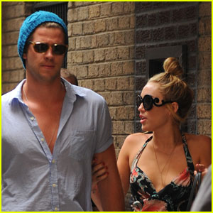 Miley Cyrus & Liam Hemsworth: Philadelphia Twosome