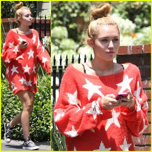 Miley Cyrus: Pretty in Stars!
