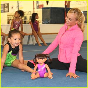 Nastia Liukin: Fantastic Gymnastics Dora Doll!