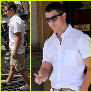 Nick Jonas: Big Apple Hottie!