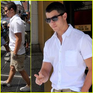Nick Jonas: Big Apple Hottie!