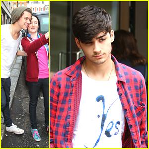 One Direction: Fan Friendly Outside Sony Studios