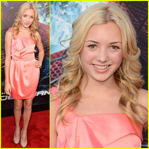 Peyton List: 'Spider-Man' L.A. Premiere!