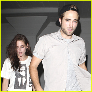 Kristen Stewart & Robert Pattinson: Hotel Cafe Couple